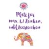 bunter elefant design 100x100 - Persönliche Affirmations-Tasse