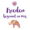 """frieden beginnt in mir affirmation 100x100 - """"Frieden in mir"""" – Tasse"""