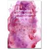"""ich atme jederzeit bewusst und verbinde koerper und geist poster 100x100 - """"Bewusste Atmung"""" - Poster A4"""
