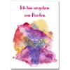 """ich bin umgeben von frieden poster 100x100 - Affirmation """"Umgeben von Frieden"""" - Poster A3"""